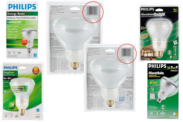 Nearly 2 Million Philips CFL Flood Lamps Recalled Laceration Hazard
