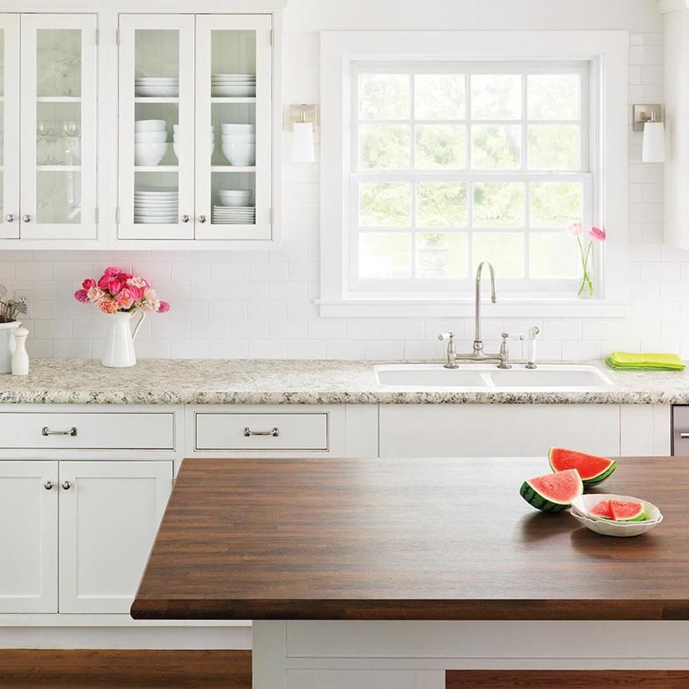 Quartz Kitchen Countertops Durable Kitchen Flooring Glazed