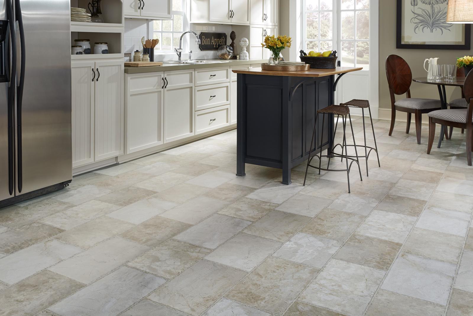 Quartz Kitchen Countertops | Durable Kitchen Flooring | Glazed ...