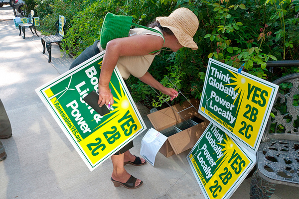 Yes You Can Recycle Those Campaign Lawn Signs