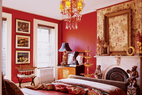 red painted walls for your home | how to pick red paint | houselogic
