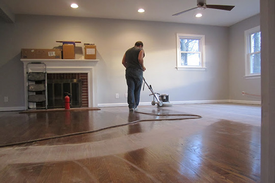 Refinishing hardwood floors diy wood floor refinishing tips solutioingenieria Image collections