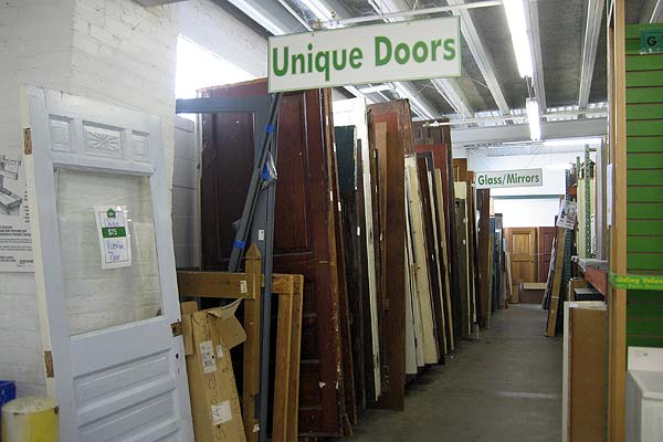 tips for shopping for salvaged building materials