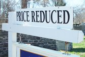 Home for sale with lowered asking price