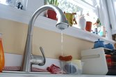 Dripping kitchen faucet