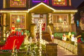 Here's how to light up your Christmas light display safely and economically.