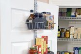 Over-the-door home kitchen storage