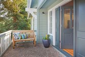 Porch area at a Craftsman home