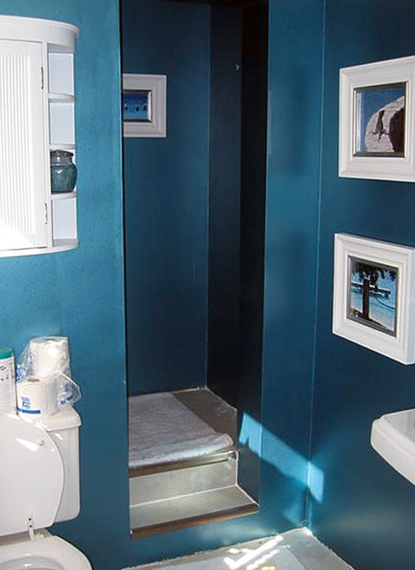bathroom ideas on a budget easy bathroom makeovers - Small Shower Design Ideas