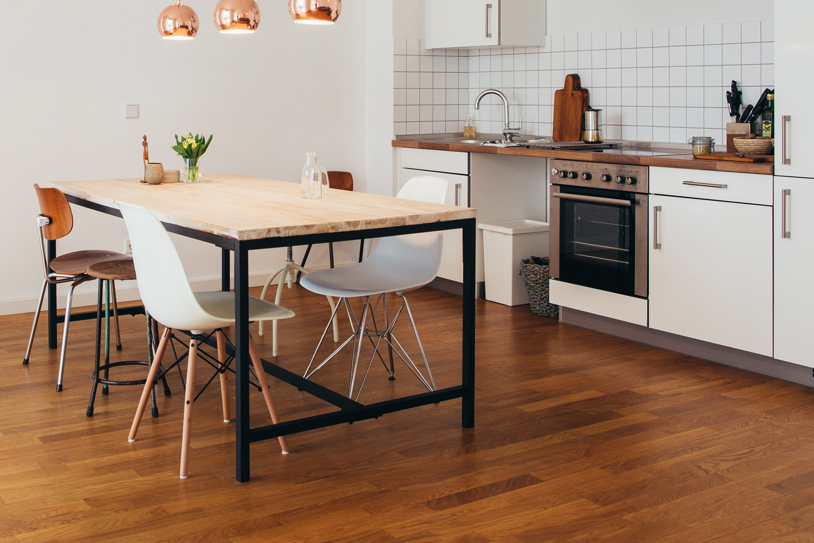 awesome wood floor in kitchen pictures - best image engine