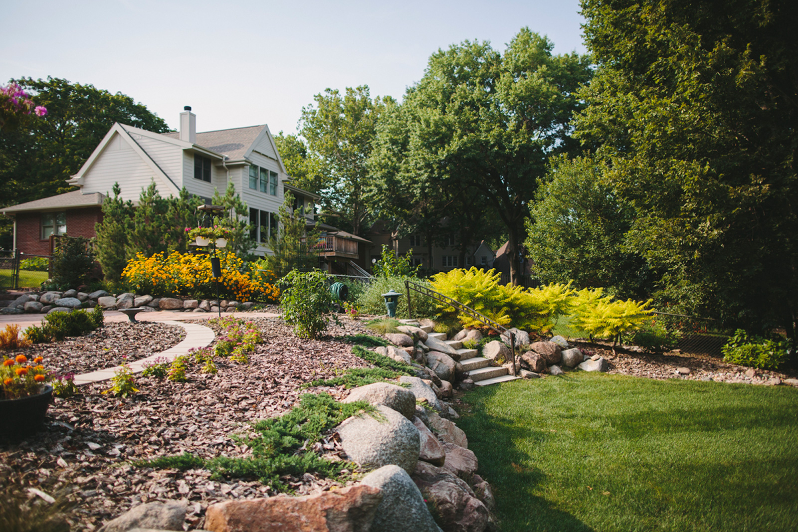 Pick the right stone for outdoor landscaping