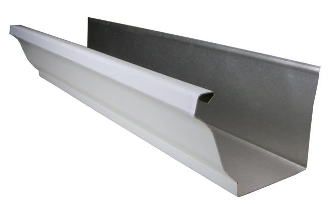 K-style gutter design