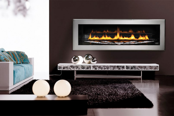 The Ultimate in Fireplace Bling