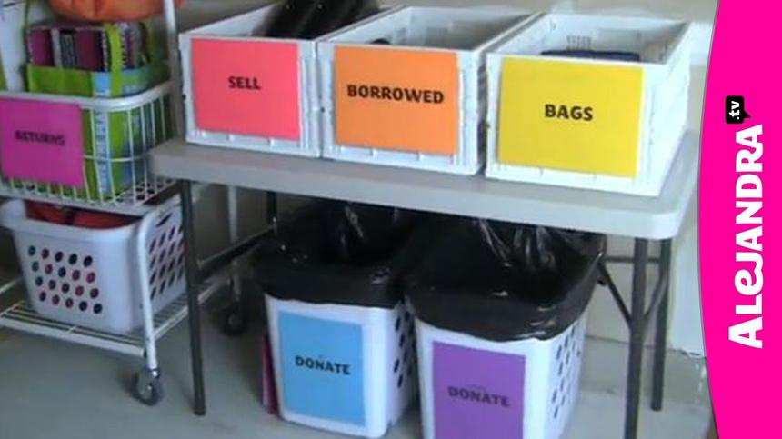 How to Organize Things That Are Leaving Your House