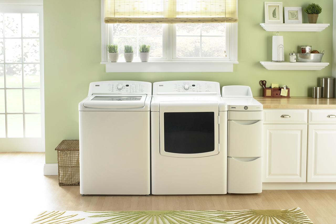 Buy washer washing machine buying guide houselogic for Kitchen cabinet washing machine