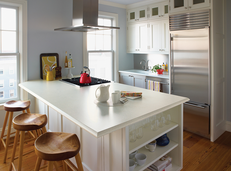 classic and timeless the white kitchenbudget minded laminate