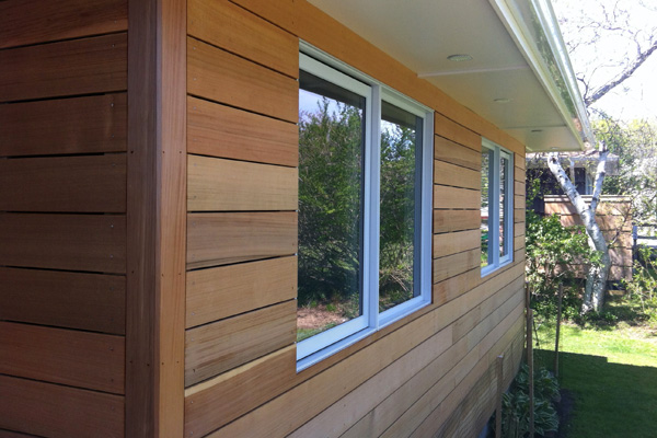 How to maintain and care for the wood siding on your home for Homes with wood siding