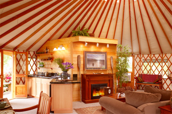 Yurts The Ultimate Low Impact Housing